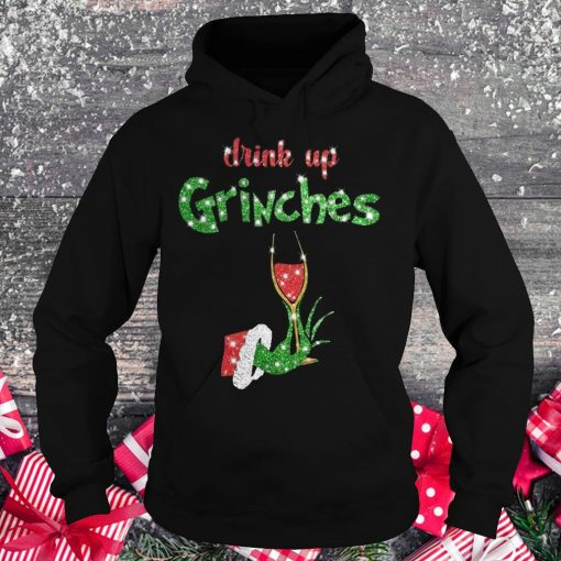 Drink up grinches wine shirt