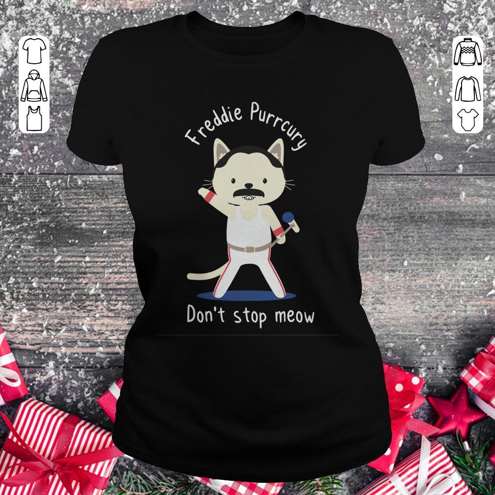 Freddie Purrcury Don T Stop Meow Shirt Classic Ladies Tee.jpg