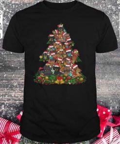 Funny Dachshunds Christmas Tree Shirt Classic Guys Unisex Tee 1.jpg