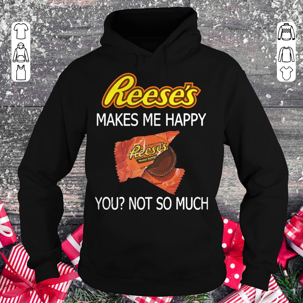Gift Funny T-Shirt Rum Makes Me Happy You Not So Much Hoodie