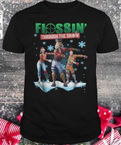 Hot Fortnite Flossin Through The Snow Shirt Classic Guys Unisex Tee 1.jpg