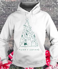 Hot Merry catmas shirt