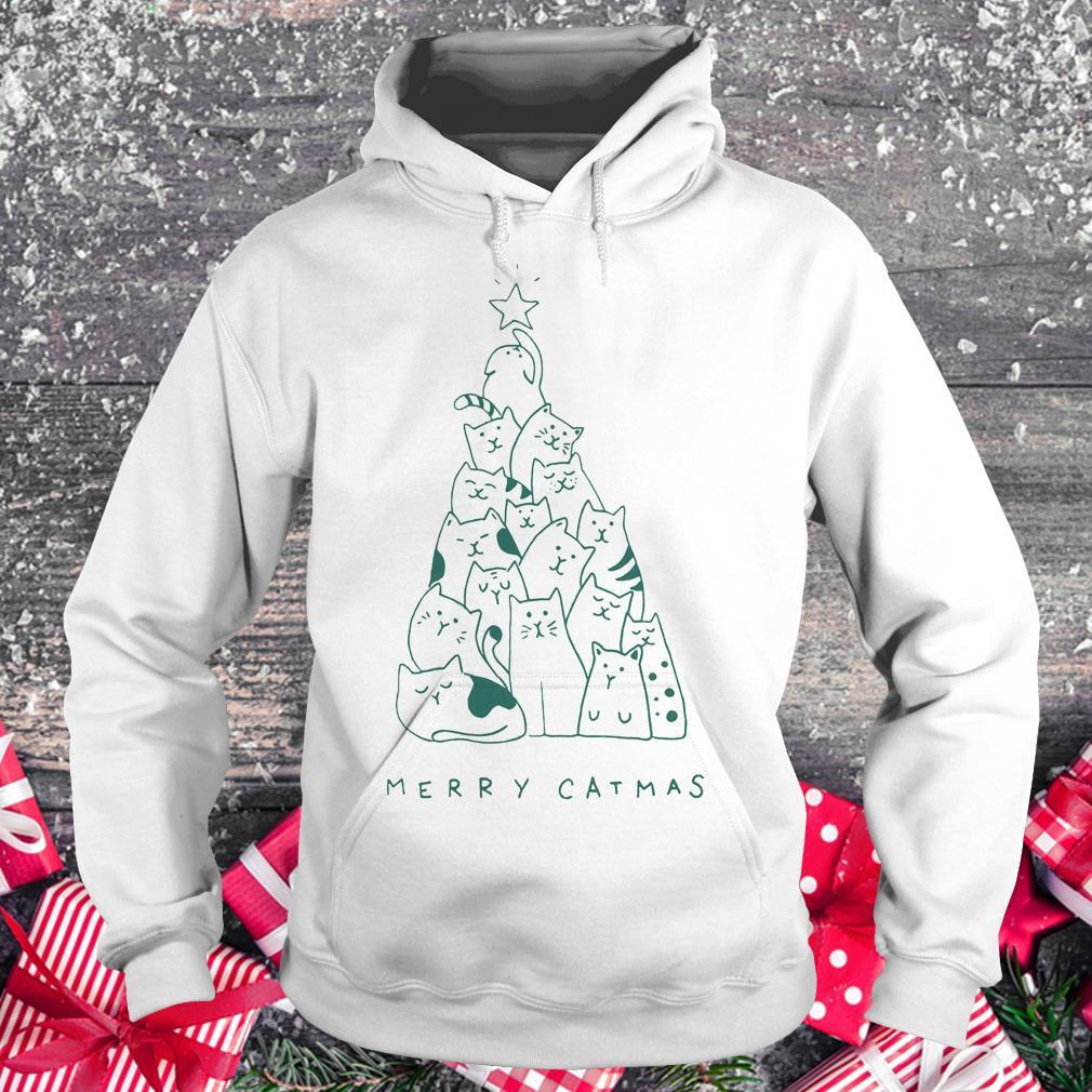 Hot Merry catmas shirt Hoodie