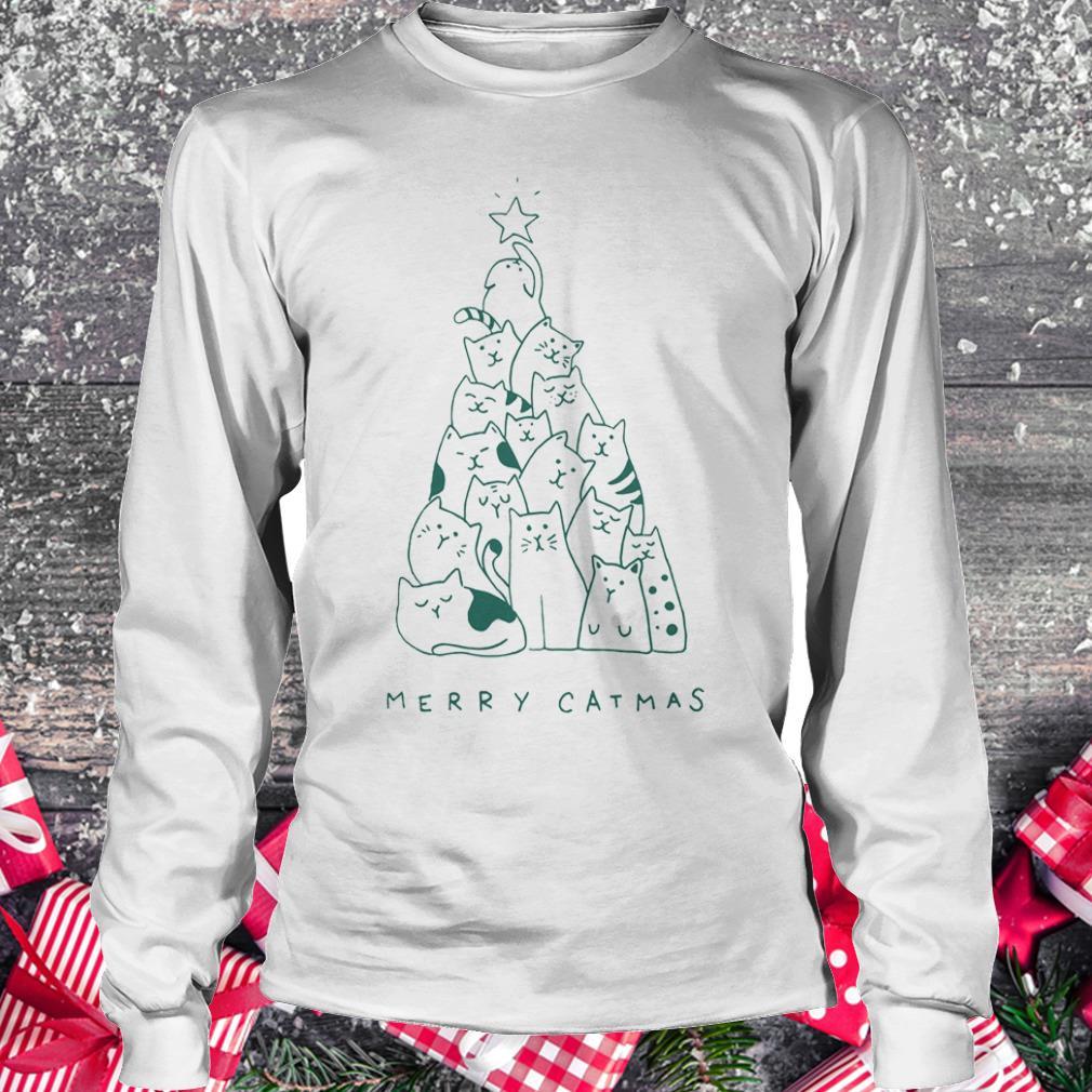Hot Merry catmas shirt Longsleeve Tee Unisex