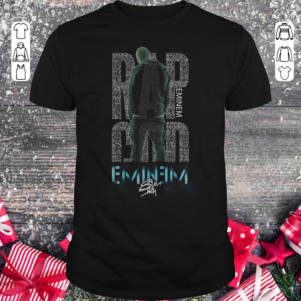 Hot Rap God Eminem Shirt Classic Guys Unisex Tee 1.jpg