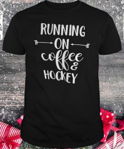 Hot Running On Coffee And Hockey Shirt Classic Guys Unisex Tee 1.jpg