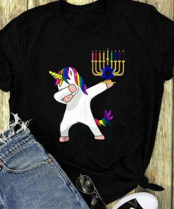 Hot Unicorn Dabbing Hanukkah Shirt 1 1.jpg