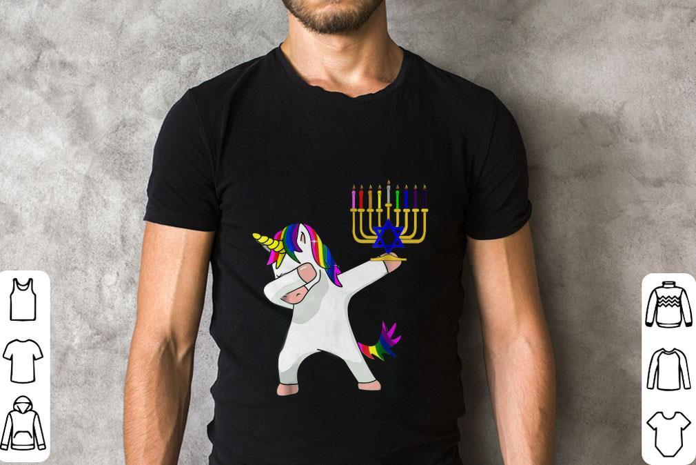 Hot Unicorn Dabbing Hanukkah Shirt 2 1.jpg