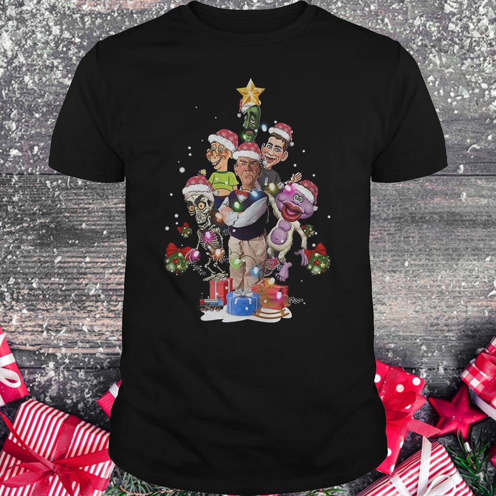 Jeff Dunham Christmas Tree shirt Classic Guys / Unisex Tee