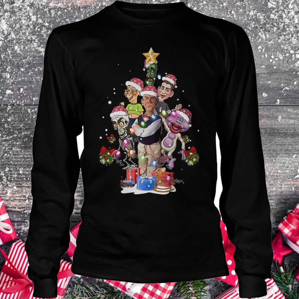 Jeff Dunham Christmas Tree shirt Longsleeve Tee Unisex