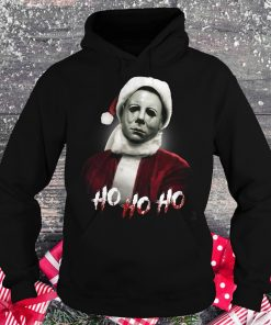 Michael Myers Santa Hat shirt