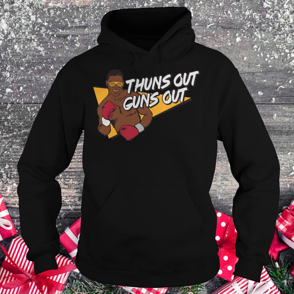 Mr. Tyson thuns out guns out shirt