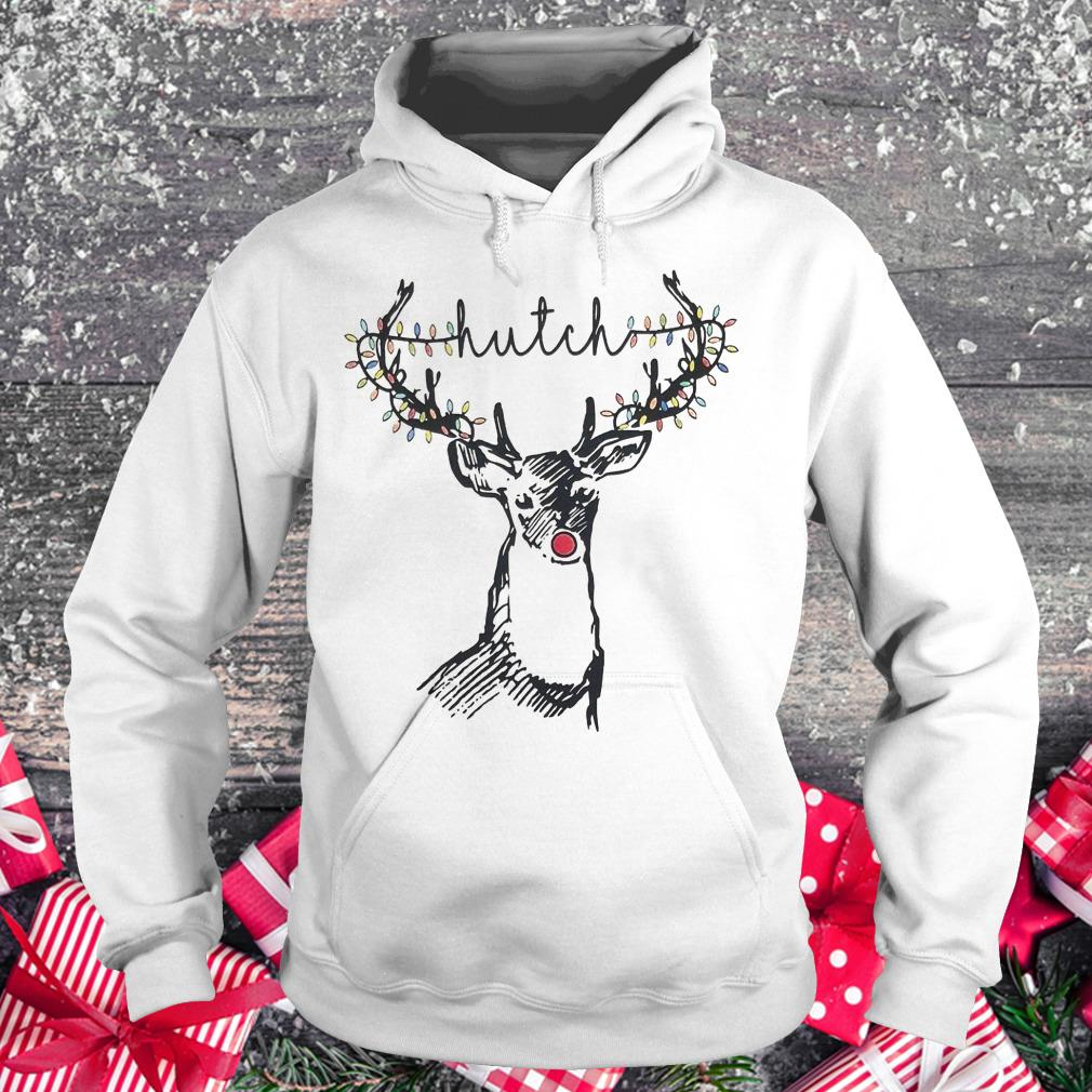 Nice Christmas Lights Reindeer Hutch shirt