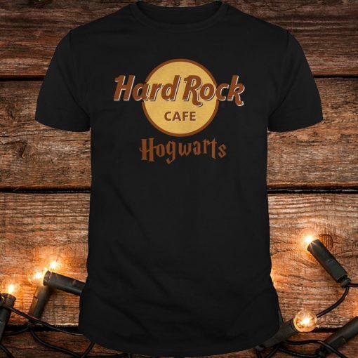 Nice Harry Potter hard Rock cafe Hogwarts shirt