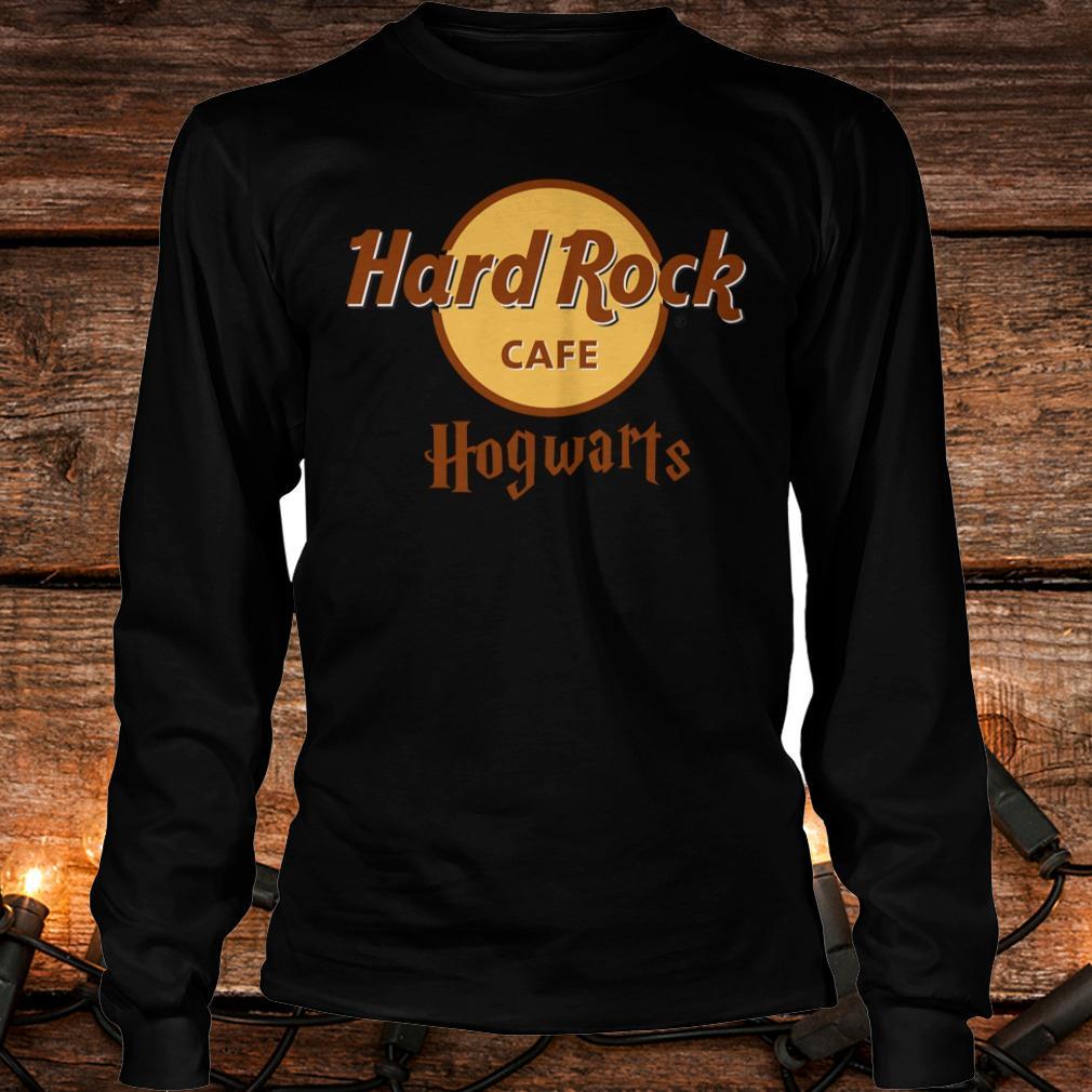 Nice Harry Potter hard Rock cafe Hogwarts shirt Longsleeve Tee Unisex