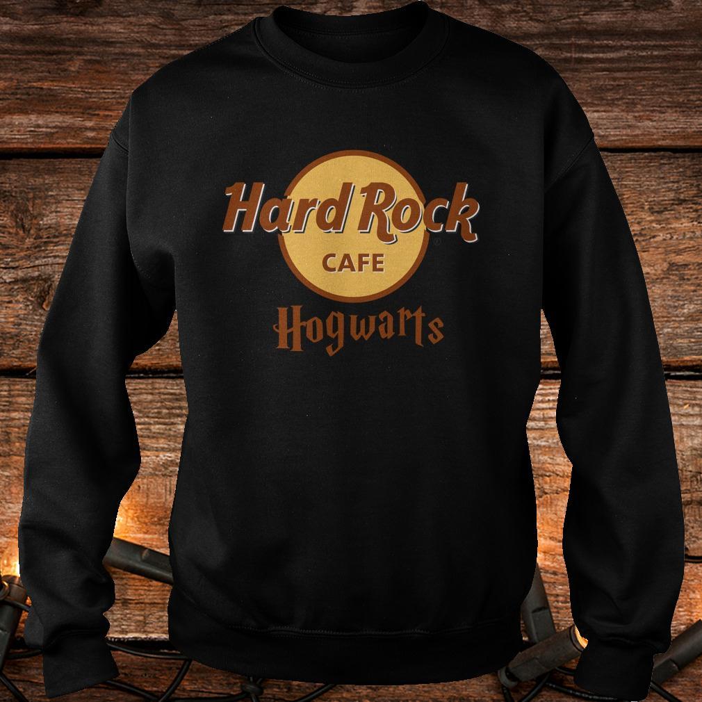 Nice Harry Potter hard Rock cafe Hogwarts shirt Sweatshirt Unisex