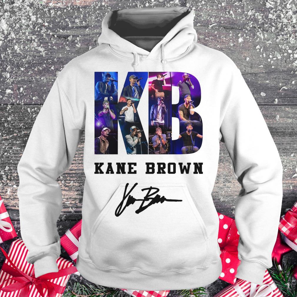 Nice Kane Brown Signed Autograph shirt Hoodie