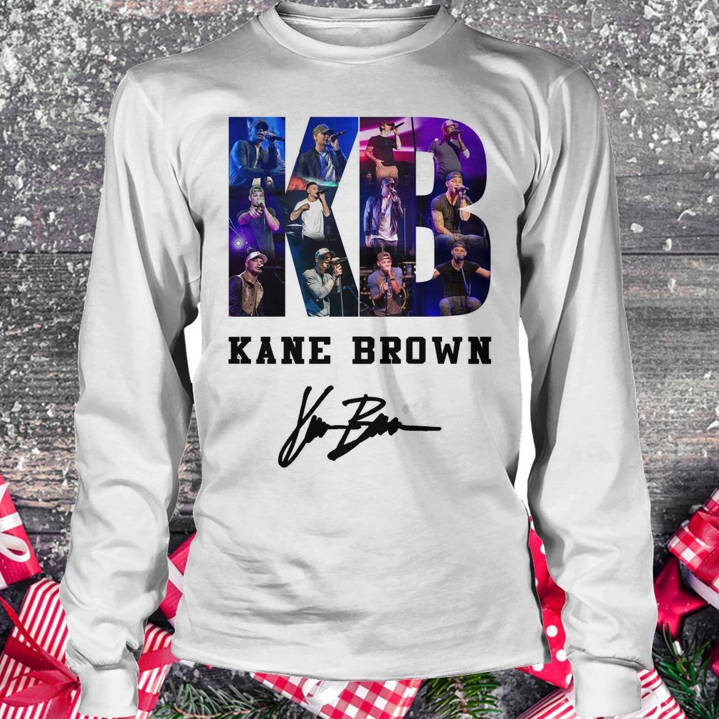 Nice Kane Brown Signed Autograph shirt Longsleeve Tee Unisex
