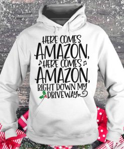 Offical Here comes Amazon Right down my driveway shirt