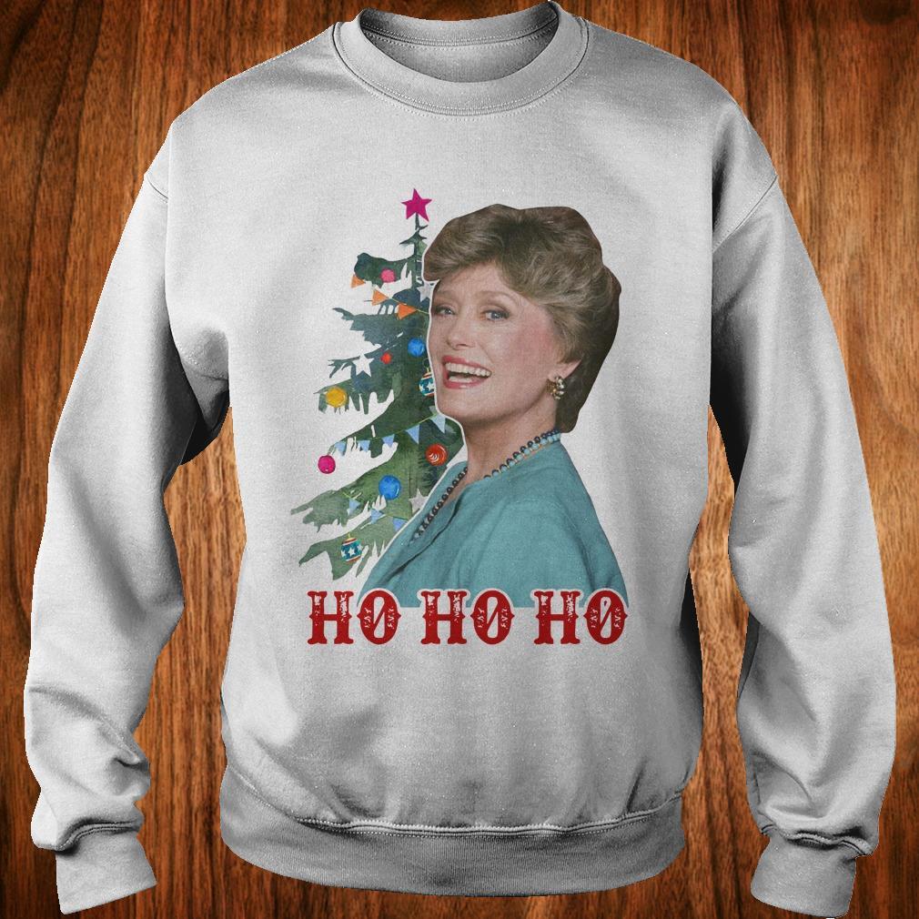 Official Blanche Golden Girls Ho ho ho Merry Christmas shirt Sweatshirt Unisex