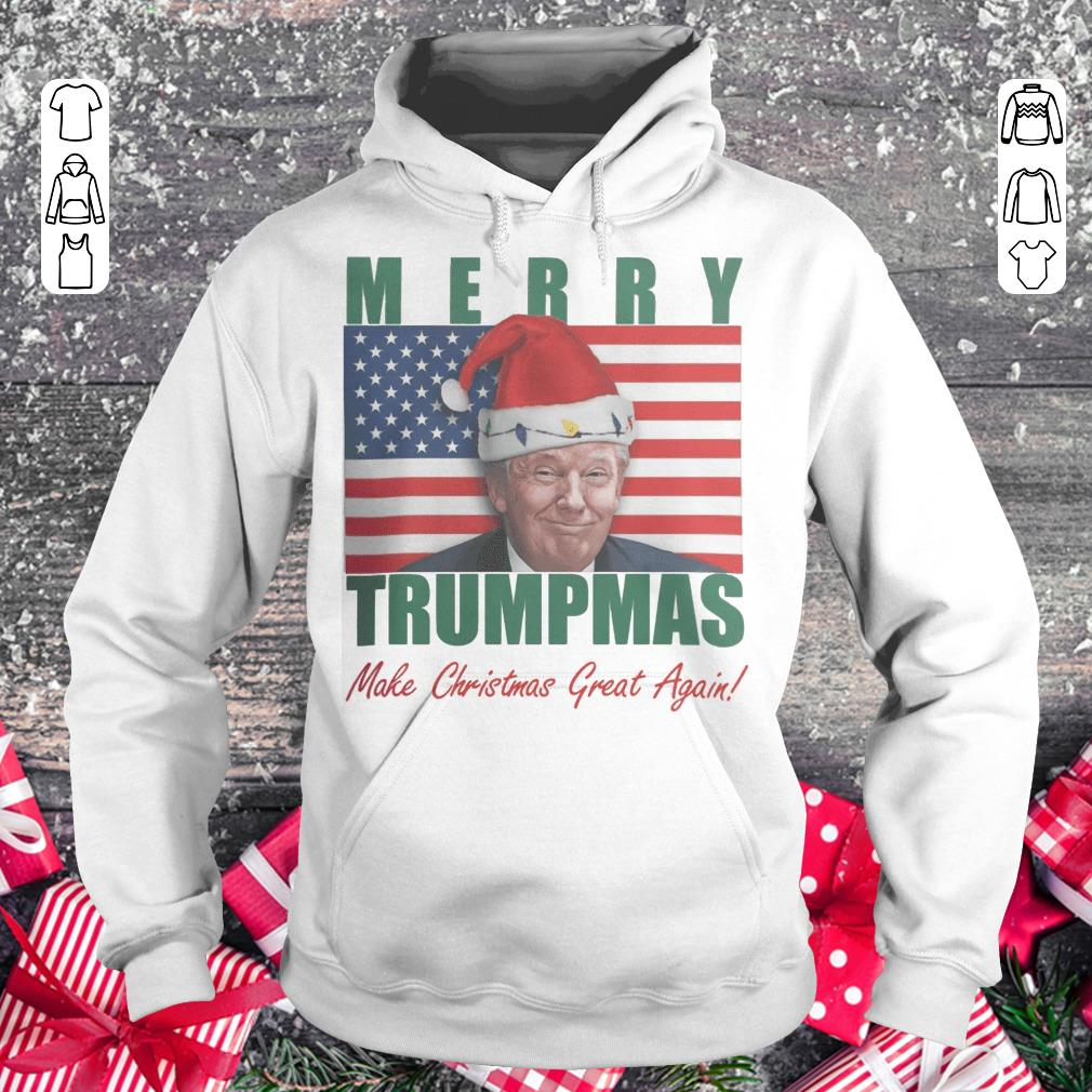 Official Merry Trumpmas Make christmas great again shirt Hoodie