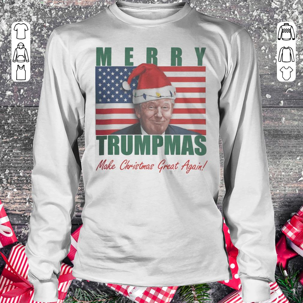 Official Merry Trumpmas Make christmas great again shirt Longsleeve Tee Unisex