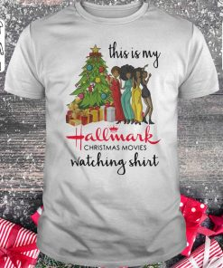 Official This Is My Black Girls Hallmark Christmas Movie Watching Shirt Classic Guys Unisex Tee 1.jpg