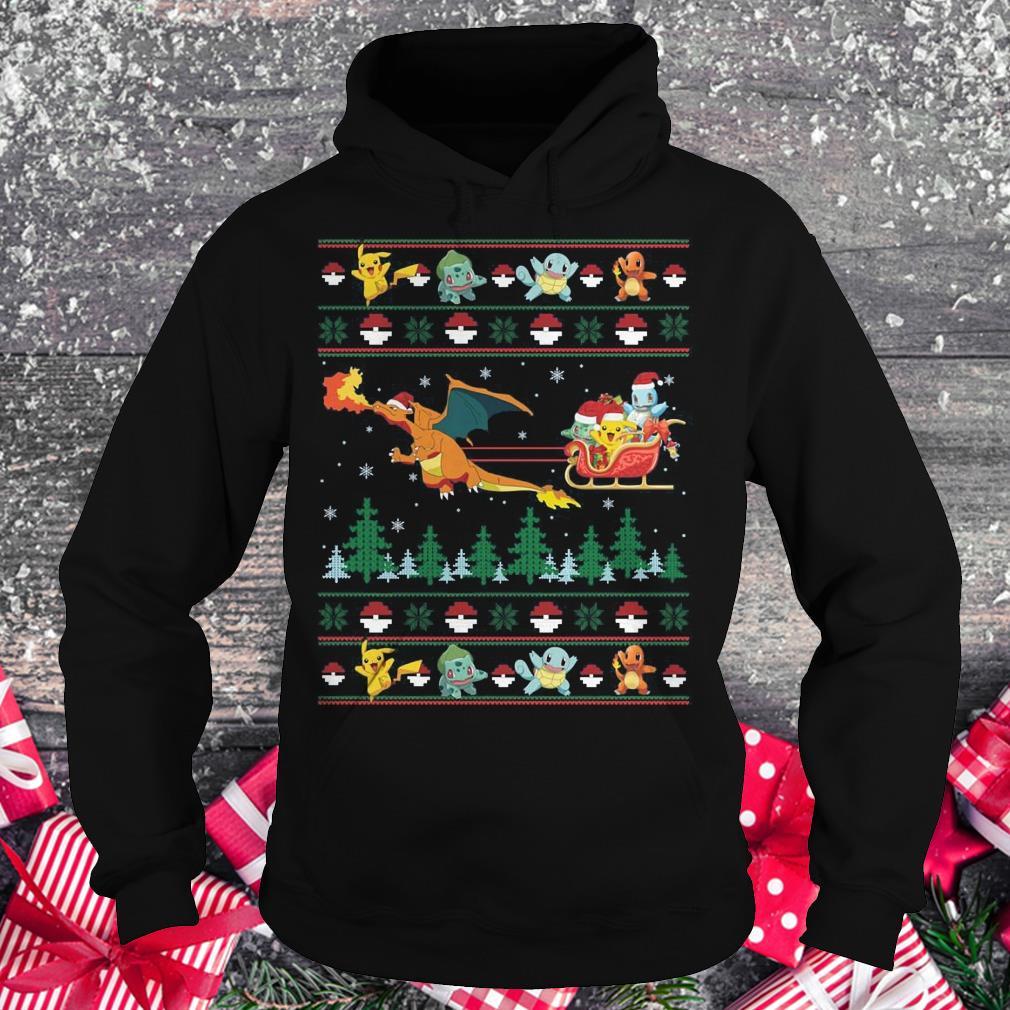 Original Christmas Pokemon Sweater shirt