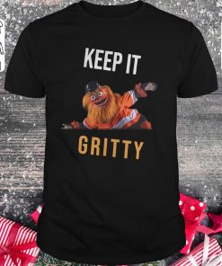 Original Keep It Gritty Flyers Mascot Shirt Classic Guys Unisex Tee 1.jpg