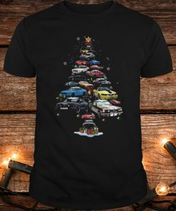 Original Mustang Car Christmas Tree sweatshirt