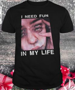 Original The Drums Surreal Glitchy I need fun in my life shirt