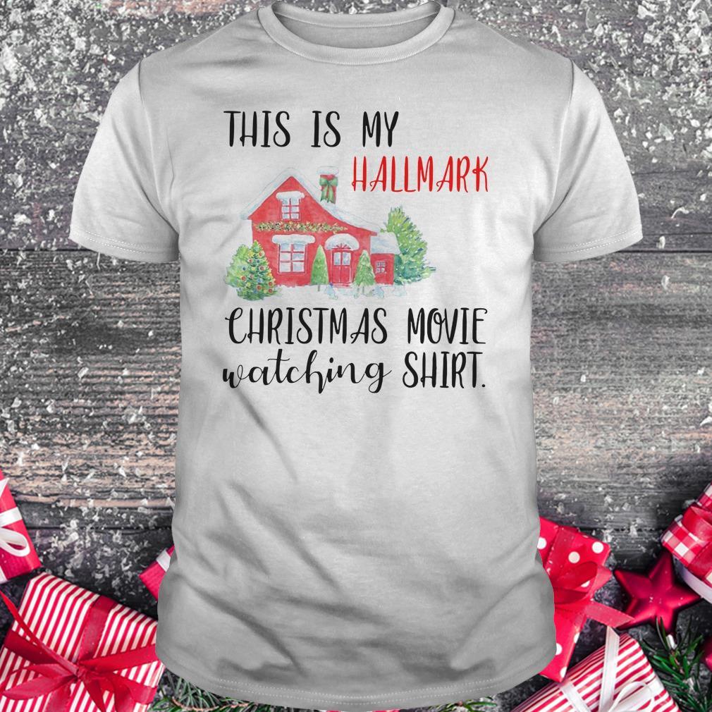 Original This is my Hallmark christmas movie watching shirt Classic Guys / Unisex Tee