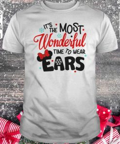 518599913bc8 Premium Disney It S The Most Wonderful Time To Wear Ears Shirt Hoodie  Classic Guys Unisex