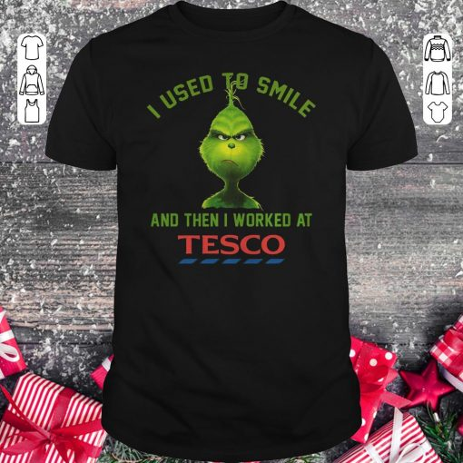 Premium I Used To Smile And Then I Worked At Tesco Shirt Classic Guys Unisex Tee 1.jpg