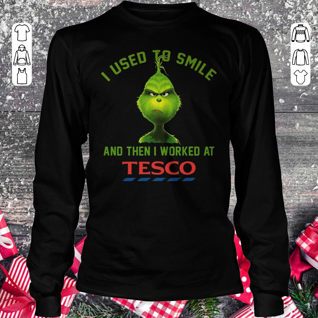 Premium I used to smile and then i worked at Tesco shirt Longsleeve Tee Unisex