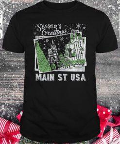 Premium Season's Greetings from Main St USA shirt