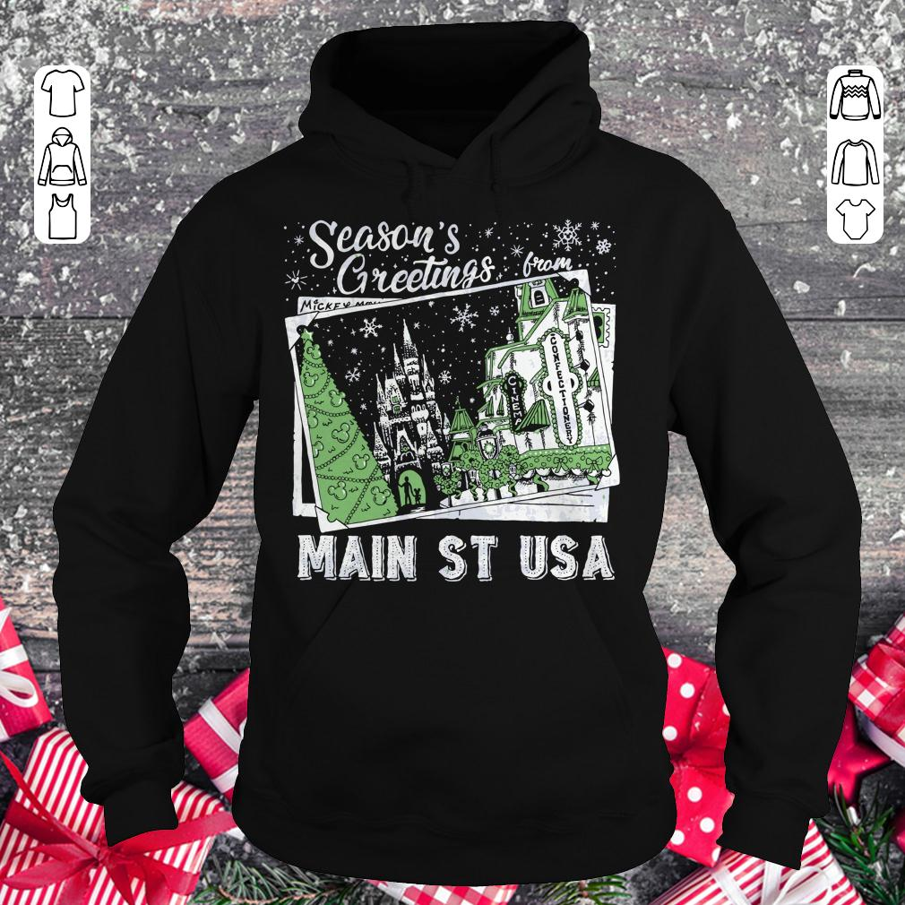 Premium Season's Greetings from Main St USA shirt Hoodie