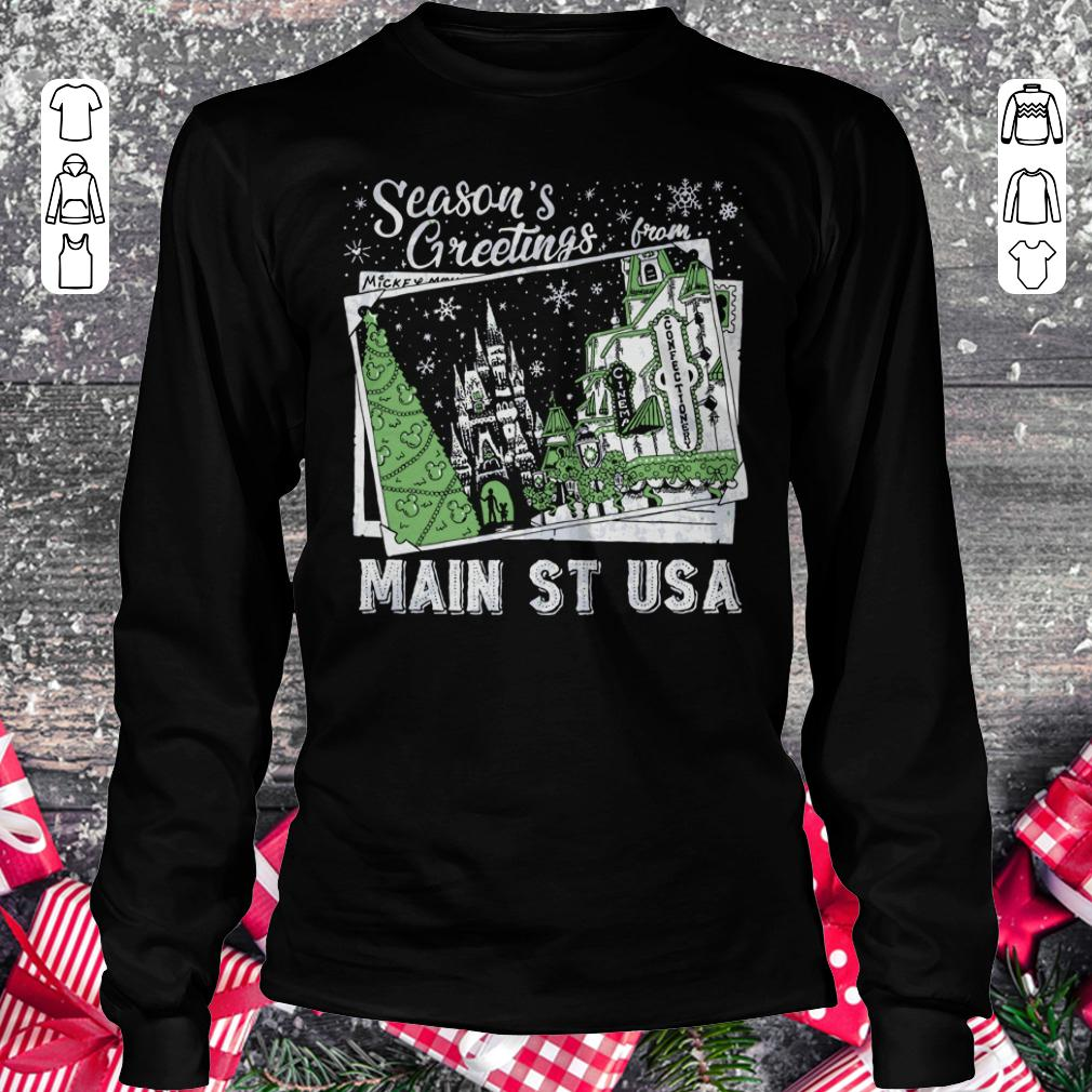 Premium Season's Greetings from Main St USA shirt Longsleeve Tee Unisex