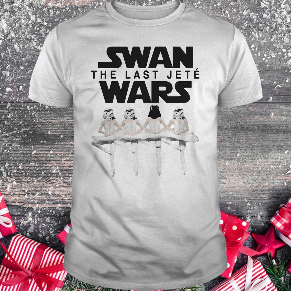 Premium Swan the last jete wars shirt Classic Guys / Unisex Tee