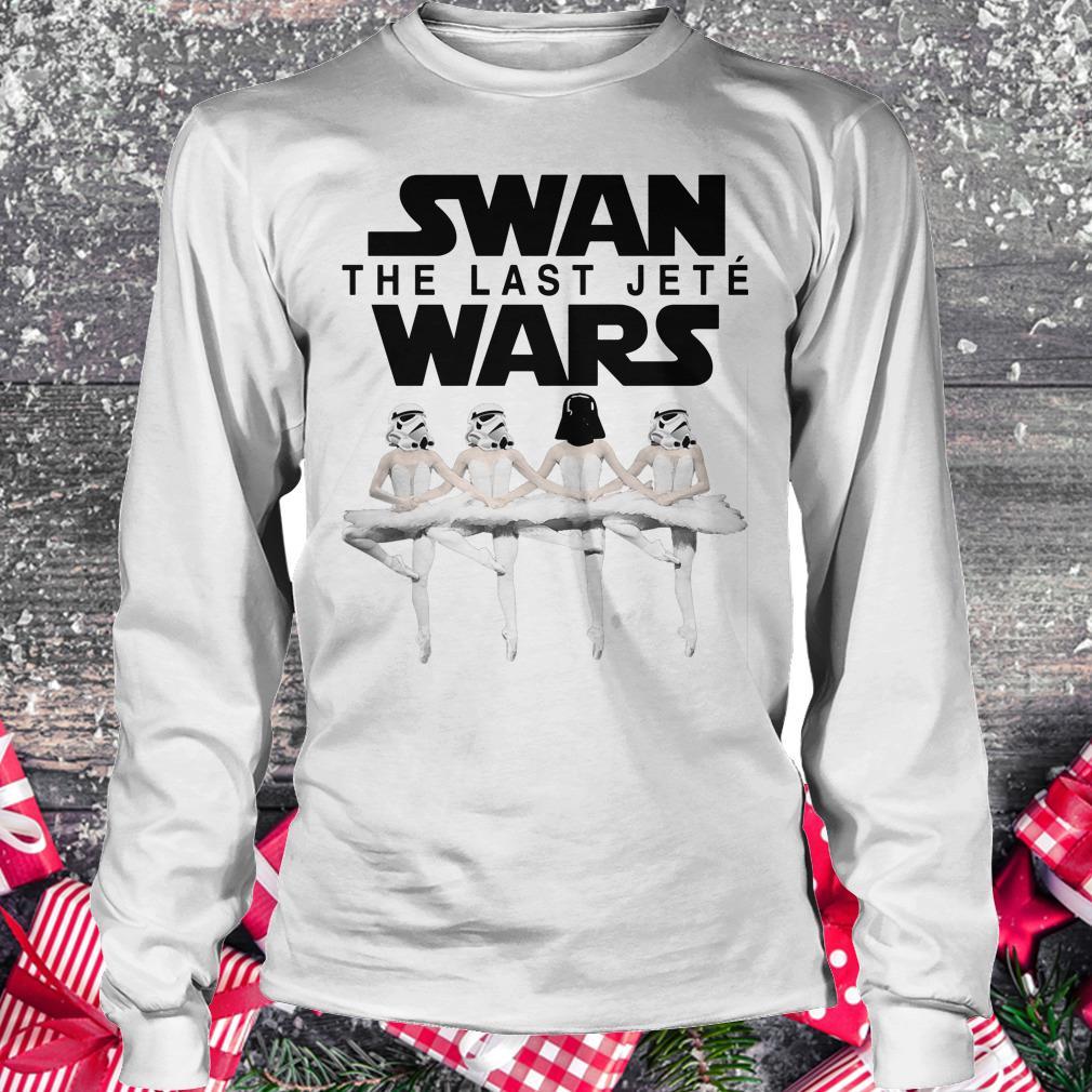 Premium Swan the last jete wars shirt Longsleeve Tee Unisex