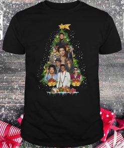 Pretty Bruno Mars Christmas Tree Shirt Classic Guys Unisex Tee 1.jpg