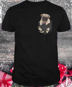 Pretty Pug Dog In Pocket Shirt Sweater Classic Guys Unisex Tee 1.jpg