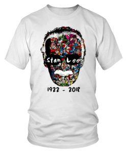 Rip Stan Lee 1922 2018round Neck T Shirt Unisex 1.jpg
