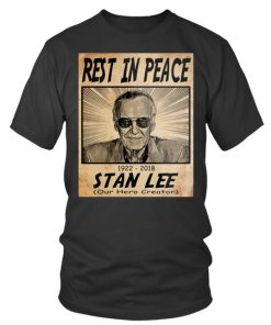 Rest In Peace Stan Lee Tee Shirtround Neck T Shirt Unisex 1.jpg