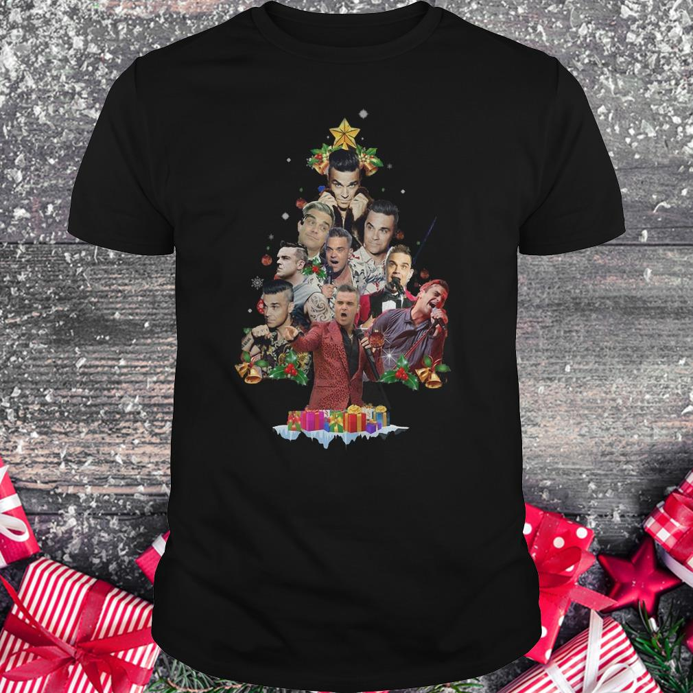 Robbie Williams Christmas Tree shirt Classic Guys / Unisex Tee