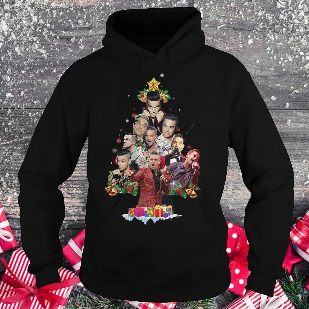 Robbie Williams Christmas Tree shirt Hoodie