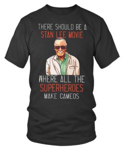 Stan Lee Movie Superheroesround Neck T Shirt Unisex 1.jpg