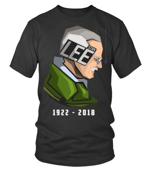 Stan Leeround Neck T Shirt Unisex 1.jpg