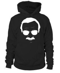 Stan Lee In Whitehoodie Unisex 1.jpg