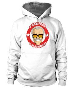 Stan Lee Is My Superhero Comic Book Fan Hoodie Unisex 1.jpg